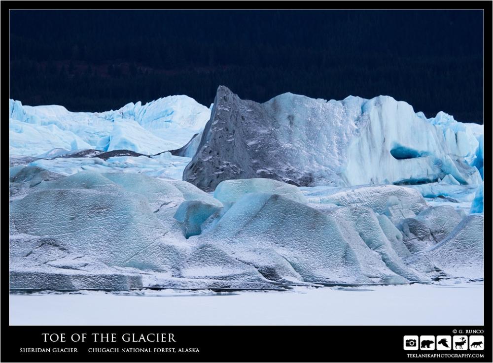 Toe of the Glacier